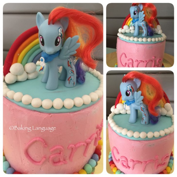 Rainbow Dash Birthday Cake My Little Pony Rainbow Dash Transformer Bubblebee Birthday