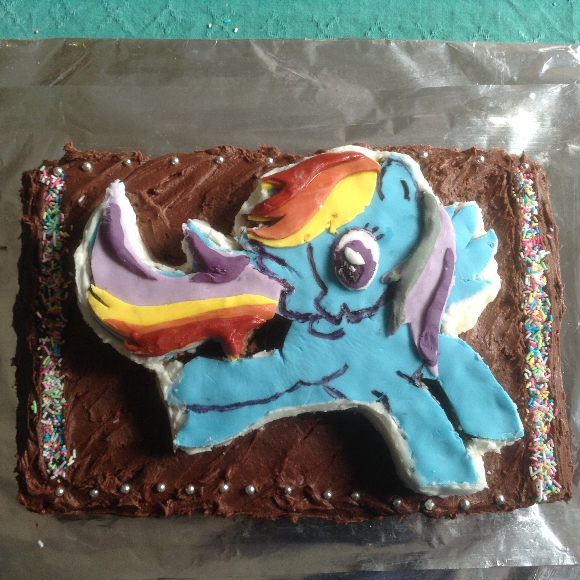 Rainbow Dash Birthday Cake Rainbow Dash Birthday Cake Krumkaker