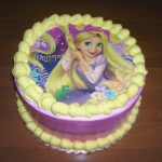 Rapunzel Birthday Cake On Rapunzel Birthday Cake Colorfulbirthdaycakesga