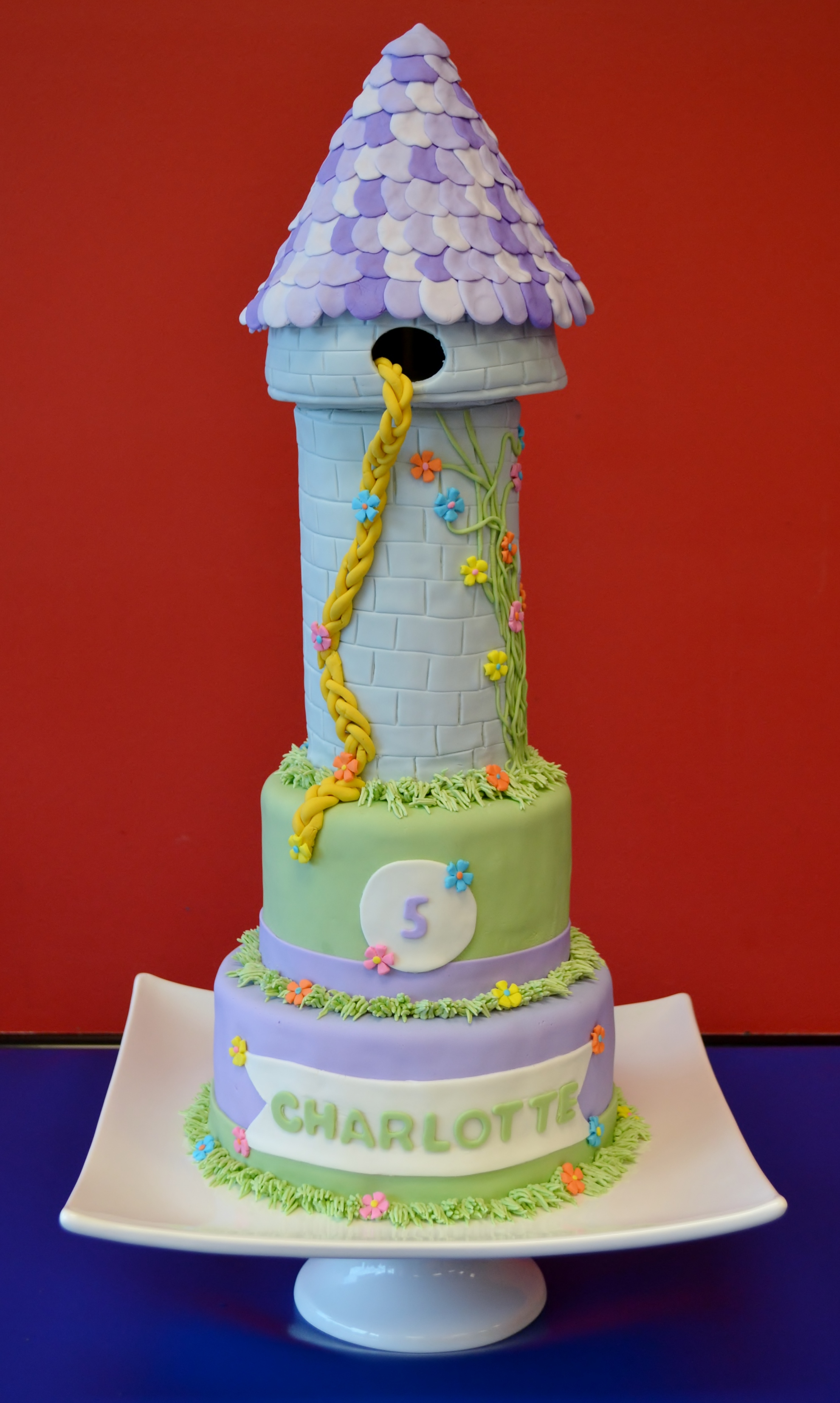 Rapunzel Birthday Cake Rapunzel Birthday Party