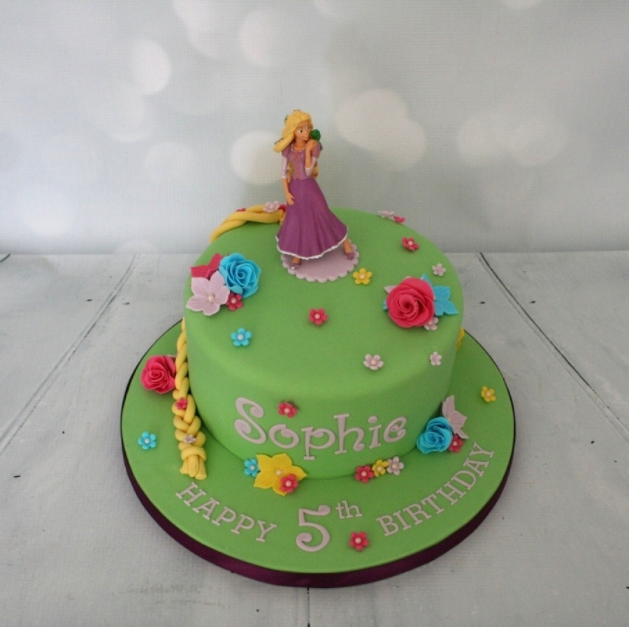 Rapunzel Birthday Cake Rapunzel Cake 5th Birthday
