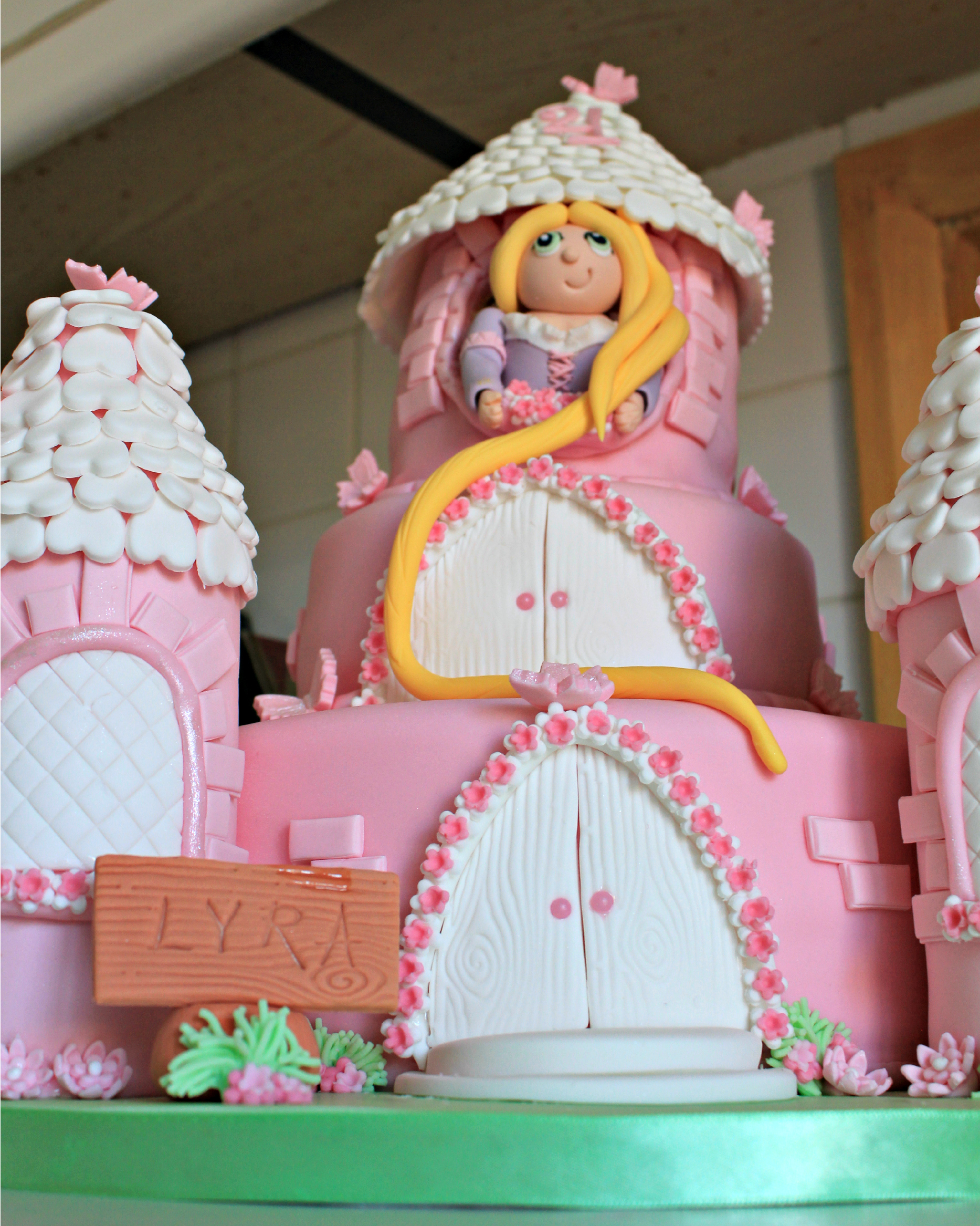 Rapunzel Birthday Cake Rapunzel Cakes Decoration Ideas Little Birthday Cakes