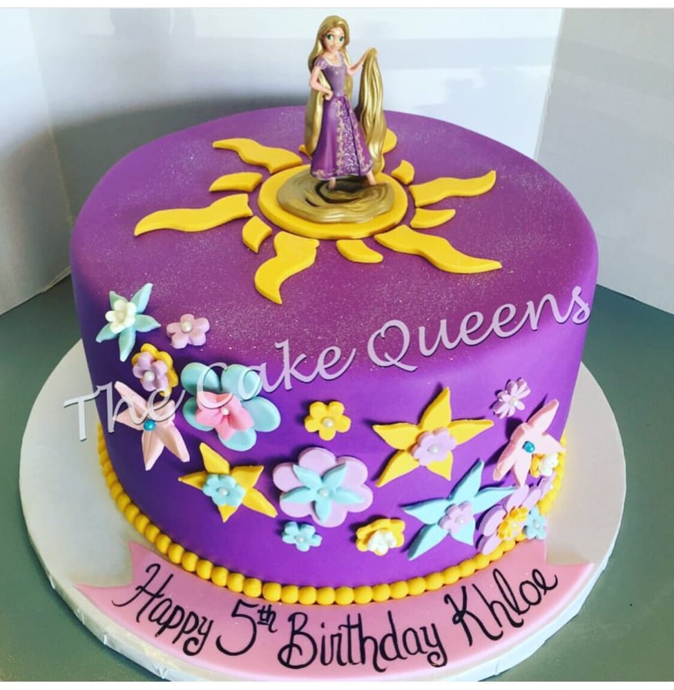 Rapunzel Birthday Cake Tangled Birthday Cake Yelp