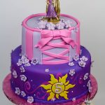 Rapunzel Birthday Cake Tangled Birthday Cakes Tangl