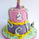 Rapunzel Birthday Cake Tangledrapunzel Birthday Cake Swirlsbakery Flickr