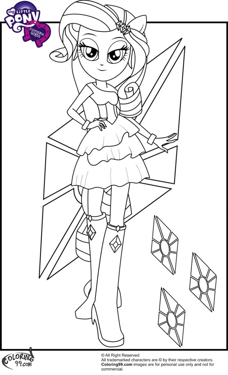 Rarity Coloring Pages My Little Pony Equestria Girls Coloring Rarity Equestria Girl
