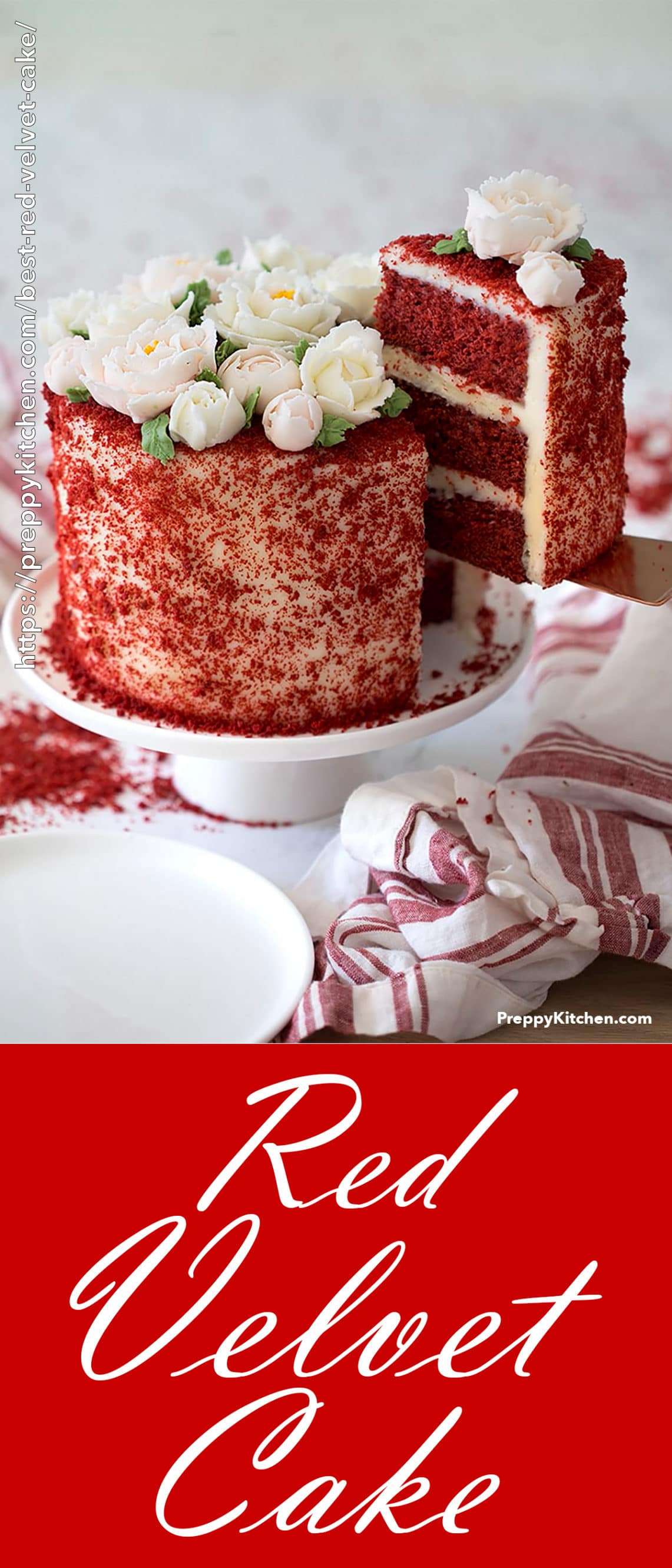 Red Birthday Cake Best Red Velvet Cake Preppy Kitchen