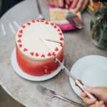 Red Birthday Cake Ombr Red Velvet Birthday Cake Manon Lagreve