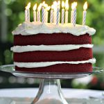 Red Birthday Cake Red Velvet Cake Simply Sated