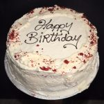 Red Birthday Cake Red Velvet Mannings Bakery