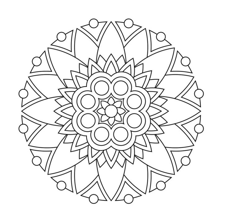 Relaxing Coloring Pages Easy Relaxing Coloring Pages Printable Coloring Page For Kids