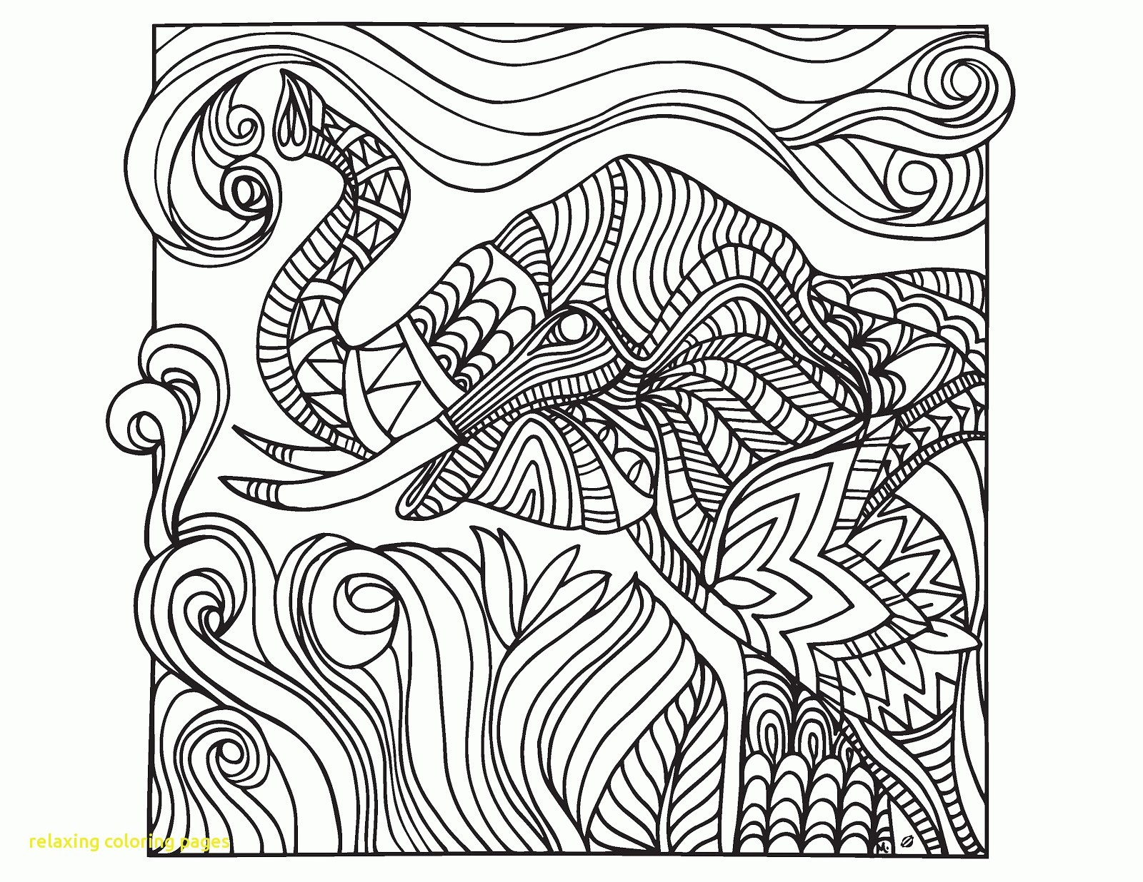 Relaxing Coloring Pages Relaxation Coloring Pages New Relaxing With Bitslice