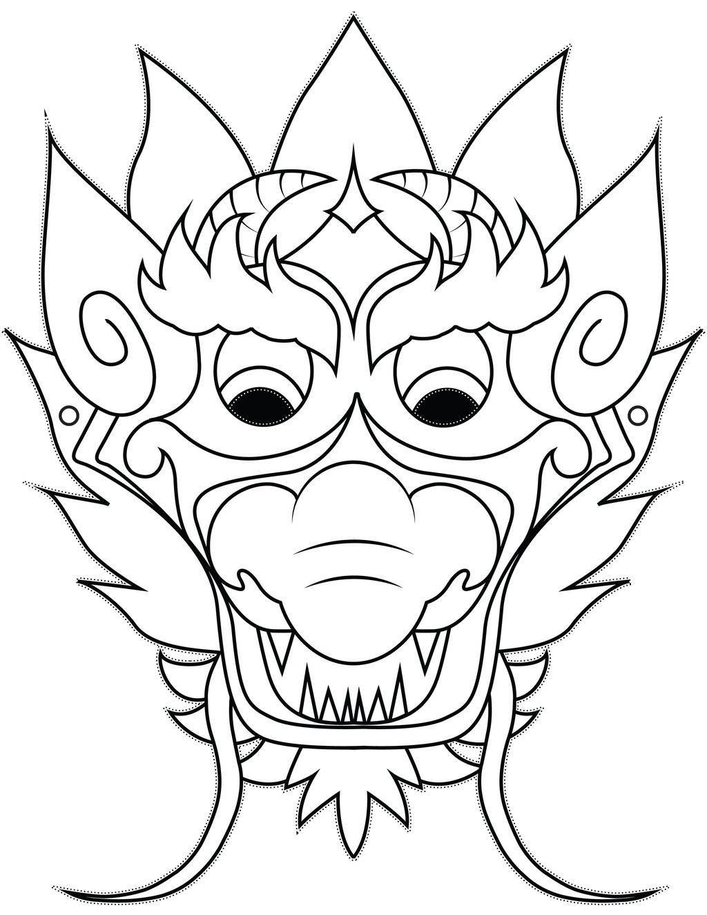 Rooster Coloring Page Year Of The Rooster Coloring Pages Blank Masks Fan Art Get