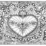 Rosary Coloring Page Color Pages For Big Folks Immaculate Heart Coloring Pages