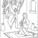 Rosary Coloring Page Joyful Mysteries Rosary Coloring Pages The Catholic Kid