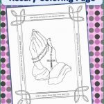 Rosary Coloring Page Marvelous Pics Of Rosary Coloring Page Coloring Pages