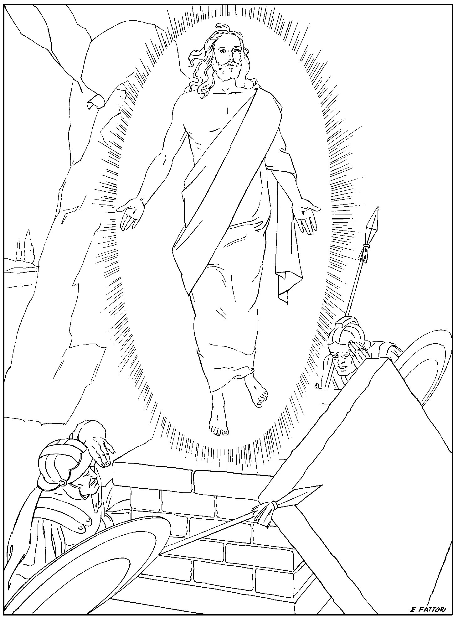 Rosary Coloring Page Rosary Coloring Pages Family In Feast And Feria