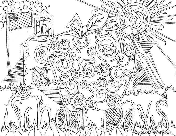 School Coloring Pages Back To School Coloring Pages Printables Classroom Doodles