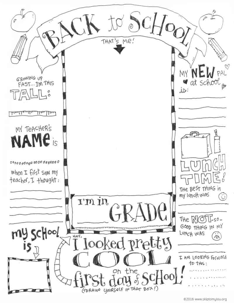 School Coloring Pages Back To School Coloring Pages Skip To My Lou