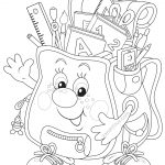 School Coloring Pages Bananas Coloring Pages