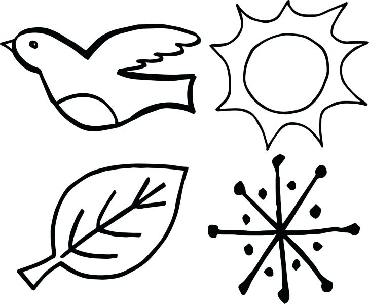 Seasons Coloring Pages 4 Seasons Coloring Pages At Getdrawings Free For Personal Use