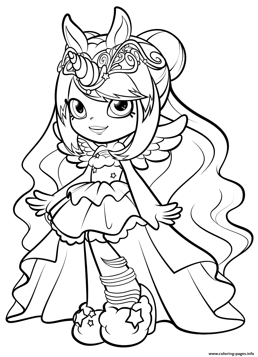 27+ Elegant Photo of Shoppies Coloring Pages