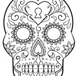 Skeleton Coloring Pages Day Of The Dead Skeletons Coloring Pages