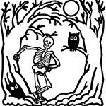 Skeleton Coloring Pages Free Skeleton Picture For Kids Download Free Clip Art Free Clip
