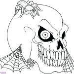 Skeleton Coloring Pages Human Head Coloring Pages At Getdrawings Free For Personal Use