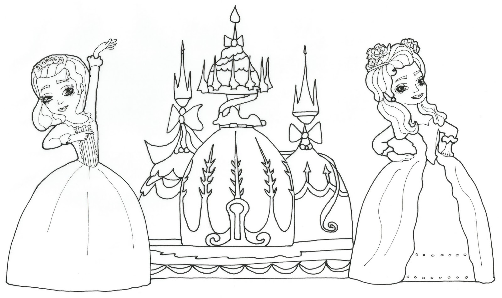 Sofia The First Coloring Page Amber Sofia The First Coloring Pages