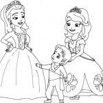 Sofia The First Coloring Page Princess Sofia Coloring Pages With The First Tingameday