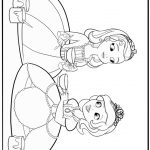 Sofia The First Coloring Page Sofia The First Coloring Pages