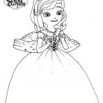 Sofia The First Coloring Page Sofia The First Coloring Pages Easy Drawing Get Coloring Page