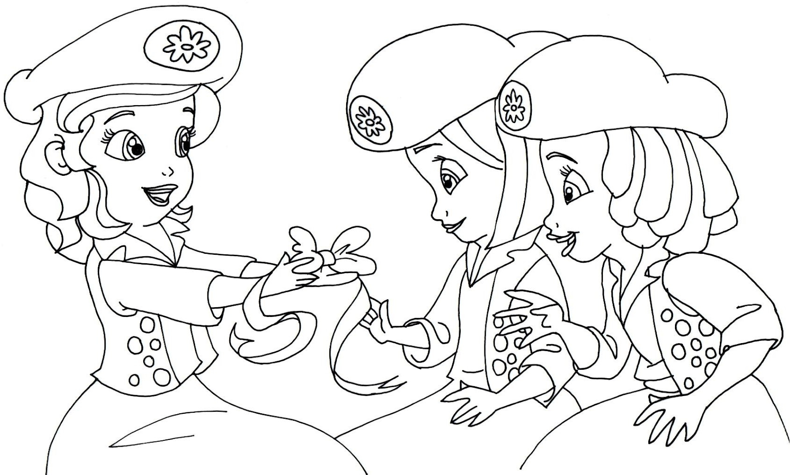 Sofia The First Coloring Page Sofia The First Coloring Pages Sofia First Coloring Pages