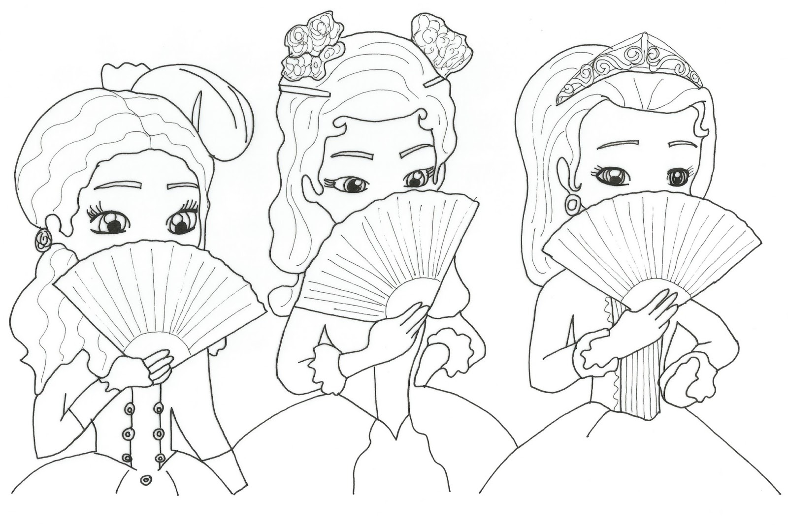 Sofia The First Coloring Page Sofia The First Coloring Pages Vietti