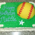 Softball Birthday Cakes Girls Softball Birthday Cake A Photo On Flickriver
