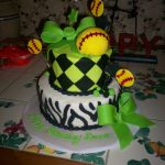 Softball Birthday Cakes Kuchen 16 Geburtstag Awesome Softball Birthday Cake Softball Party