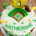 Softball Birthday Cakes Softball Birthday Cake 7 Gray Barn Baking