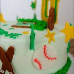 Softball Birthday Cakes Softball Birthday Cake 8 Gray Barn Baking