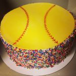 Softball Birthday Cakes Softball Birthday Cake Cakes And Cupcakes Softball Birthday