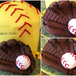 Softball Birthday Cakes Softball Birthday Cake Cupcakes2delite