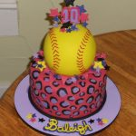 Softball Birthday Cakes Softball Birthday Cake Food Drink In 2018 Pinterest Softball