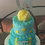 Softball Birthday Cakes Softball Birthday Cake Handmade Cindy Babich 2016 C Creations