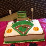 Softball Birthday Cakes Softball Field Cake I Want This For My Birthday Discount