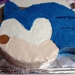 Sonic Birthday Cake Dragonfliesdawn Sonic The Hedgehog Cake Tutorial