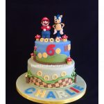 Sonic Birthday Cake Mario Sonic Birthday Cake Supermario Supermarioworld So Flickr