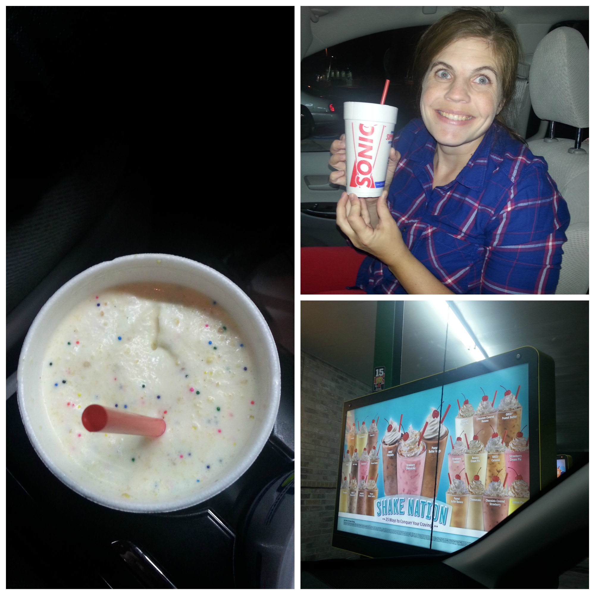 Sonic Birthday Cake Shake Celebrate Everyday With The New Sonic Cake Shakes 25 Gc Giveaway