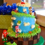 Sonic Birthday Cake Sonic Birthday Cake Birthday Ideas For Boys Pinterest Sonic