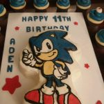 Sonic Birthday Cake Sonic The Hedgehog Birthday Cake Cakecentral