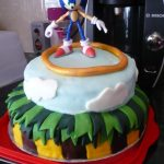 Sonic Birthday Cake Sonic The Hedgehog Birthday Cake Cooking